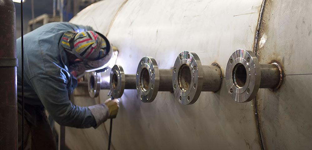 Welding Stainless Steel Tanks