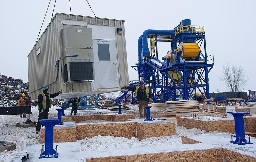 E-house Electrical Powerhouse Installation